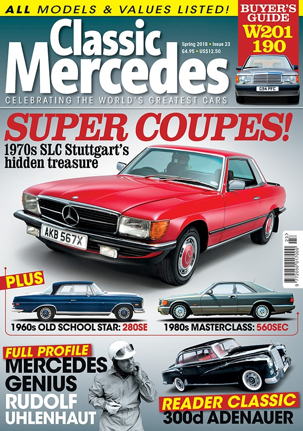 THIS ISSUE | Classic Mercedes
